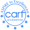 CARF Accredited logo