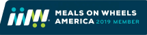 Meals on Wheels America 2019 Member badge