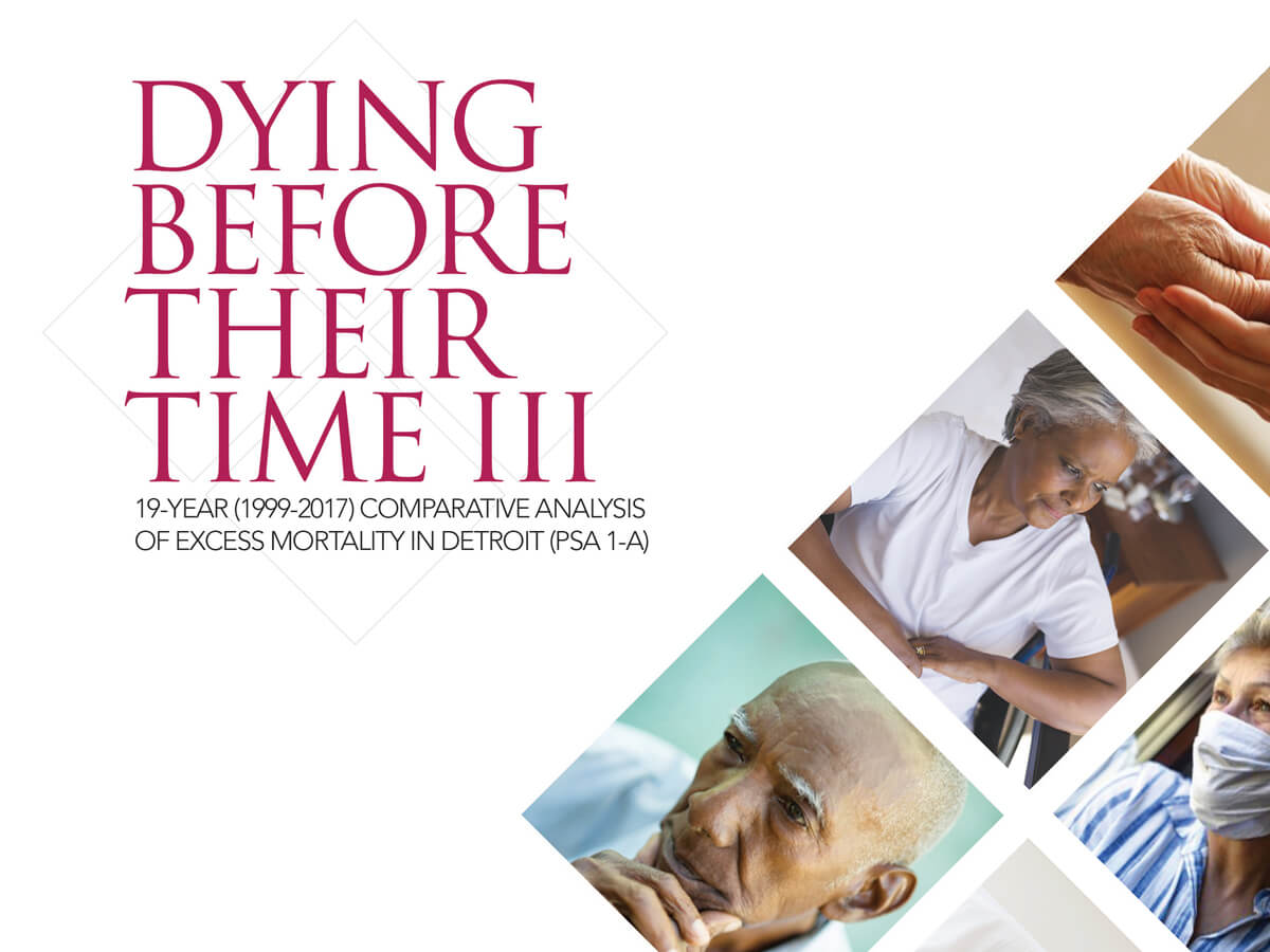 Dying Before Their Time III Research Report Cover | Detroit Area Agency on Aging
